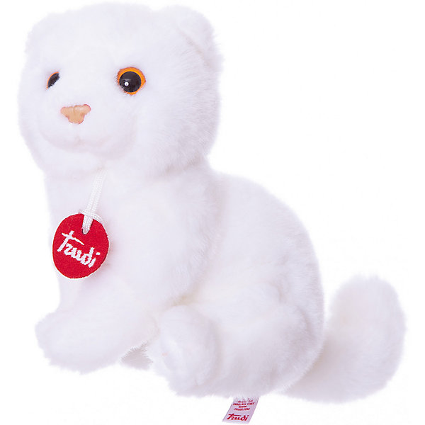 Trudi Мягкая игрушка Trudi Котёнок Брэд 24 см, trudi мягкая игрушка trudi рыжий заяц роберт 36см