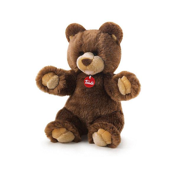 Фото Trudi Мягкая игрушка Trudi Коричневый медведь Гедеон, 34 см