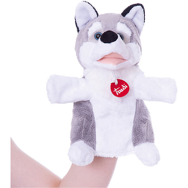 Trudi Мягкая игрушка на руку Trudi Лайка, 25 см трикси игрушка для собаки осел ткань плюш 55 см page 5