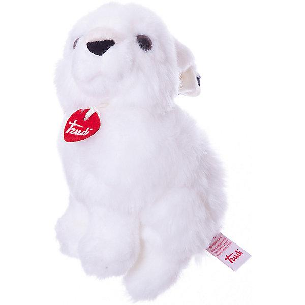 Купить Мягкая игрушка Trudi Арктический заяц Мэг 22 см, сидячий, Китай, белый, Унисекс