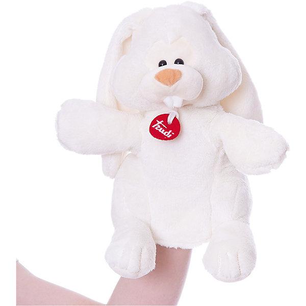 Trudi Мягкая игрушка на руку Trudi Заяц Вирджилио, 25 см цена