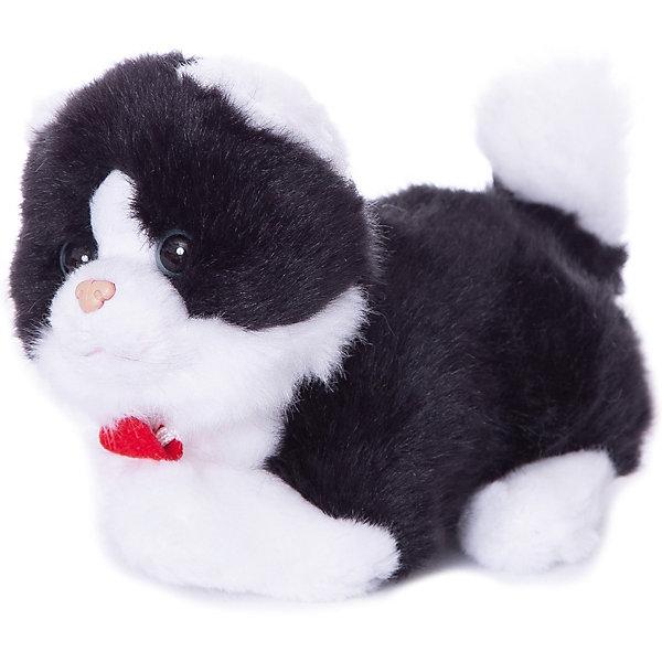 Trudi Мягкая игрушка Trudi Чёрно-белая кошечка, 15 см trudi мягкая игрушка панда кевин сидячая 34 см