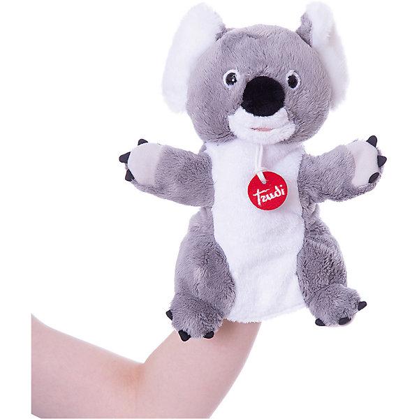 Trudi Мягкая игрушка на руку Trudi Коала, 25 см мягкая игрушка trudi коала