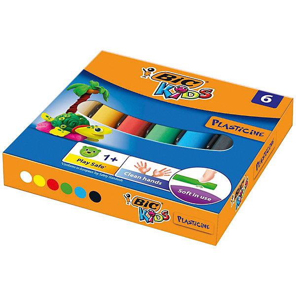 Пластилин BIC «Kids», 6 цветовПластилин<br>Характеристики: <br><br>• возраст: от 1 года;<br>• в комплекте: 6 штук;<br>• количество цветов: 6;<br>• размер упаковки: 9,5х9,5х1,5 см;<br>• вес упаковки: 70 гр;<br>• страна бренда: Франция.<br><br>Пластилин BIC «Kids» (БИК «Кидс») можно использовать для развития креативности, а также для игр, моделирования, упражнений для развития мелкой моторики. Состоит из 6 цветов: белый, желтый, красный, зеленый, синий, черный.<br><br>Представленный товар возможно использовать многократно. Пластилин мягок в использовании и оставляет руки чистыми после творчества. Безопасен для детей.<br><br>Пластилин BIC «Kids» (БИК «Кидс»), 6 цветов можно купить в нашем интернет магазине.<br>Ширина мм: 95; Глубина мм: 95; Высота мм: 17; Вес г: 70; Цвет: разноцветный; Возраст от месяцев: 12; Возраст до месяцев: 2147483647; Пол: Унисекс; Возраст: Детский; SKU: 8422174;