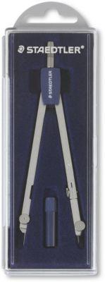 Готовальня Staedtler «Mars», 2 предмета с запасным блоком, артикул:8422200 - Чертежные принадлежности