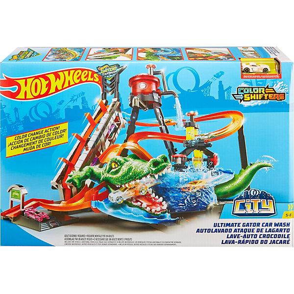 Mattel Автотрек Hot Wheels Сити Невообразимая автомойка mattel mattel детский автотрек вспыш и чудо машинки прыжок через пылающий вулкан