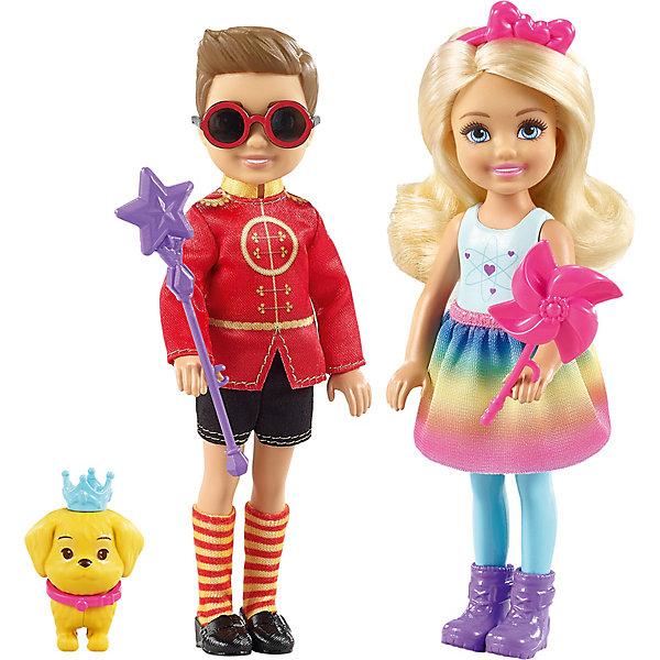 Mattel Набор кукол Barbie Челси и Нотто high quality original teardown 90