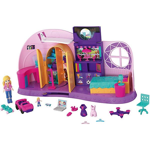 Mattel Игровой набор Polly Pocket Go Tiny! Комната Полли mattel polly pocket fry98 комната полли