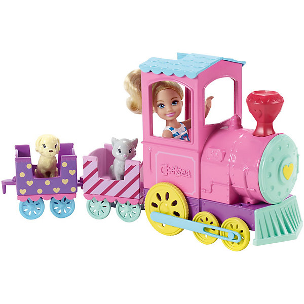 Mattel Barbie® Паровозик Челси