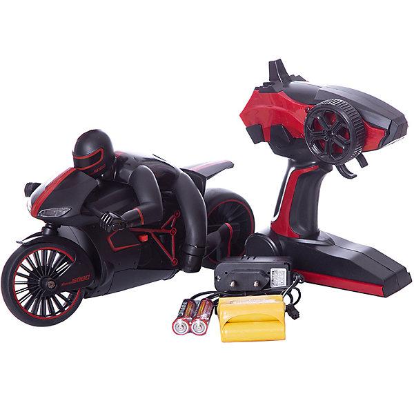 Радиоуправляемый мотоцикл 1toy Драйв с гонщиком, красныйРадиоуправляемые машины<br>Характеристики:<br><br>• возраст: от 5 лет;<br>• материал: пластик, металл;<br> • цвет: красный;<br>• аккумулятор: 700mAh Ni-CH;<br>• вес: 1,2 кг;<br>• размер: 40х19,5х17,5 см;<br>• страна бренда: Россия;<br>• бренд:  1 TOY.<br><br>Мотоцикл с гонщиком на р/у, который наверняка понравится и станет объектом желания любого мальчика. Стильный, спортивный дизайн, продуманность каждой мелочи, отличная детализация - все это делает игрушку очень популярной. Для мотоцикла доступна езда с наклоном и аккумулятор 700mAh Ni-CD.<br><br>Мотоцикл с гонщиком на р/у  можно купить в нашем интернет-магазине.<br>Ширина мм: 400; Глубина мм: 170; Высота мм: 190; Вес г: 1181; Цвет: красный; Возраст от месяцев: 60; Возраст до месяцев: 2147483647; Пол: Унисекс; Возраст: Детский; SKU: 8422569;