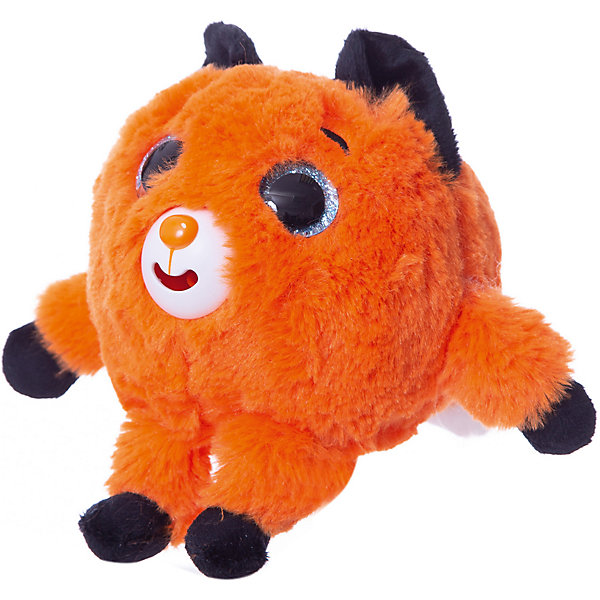 1Toy Мягкая игрушка 1toy Дразнюка-Zoo Лисичка, 13 см, звук