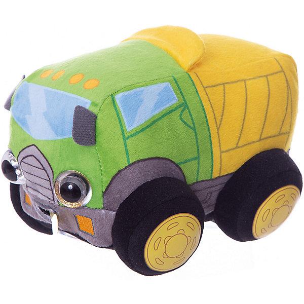 1Toy Мягкая игрушка 1toy Дразнюка-Биби Грузовичок, 15 см, свет, звук