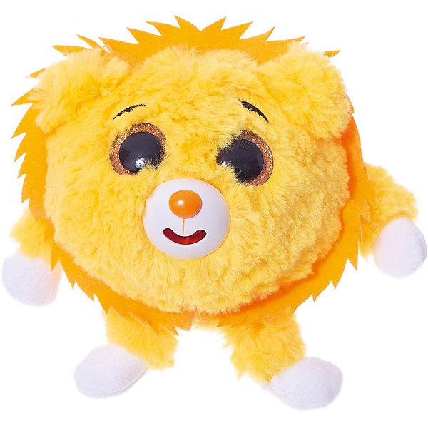 1Toy Мягкая игрушка 1toy Дразнюка-Zoo Львёнок, 13 см, звук
