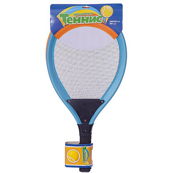 1Toy Игровой набор 1toy Теннис ракетки и мячик