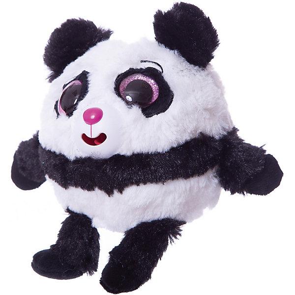 1Toy Мягкая игрушка 1toy Дразнюка-Zoo Панда, 13 см, звук
