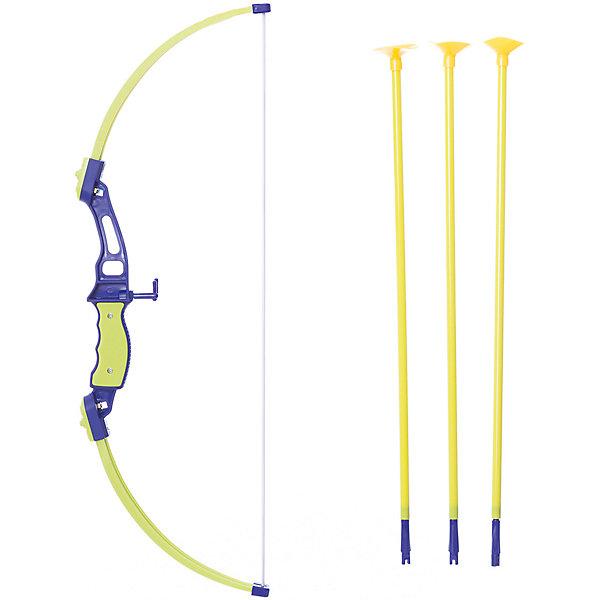 1Toy Игрушечное оружие 1toy Набор лучника, лук и стрелы, мишень
