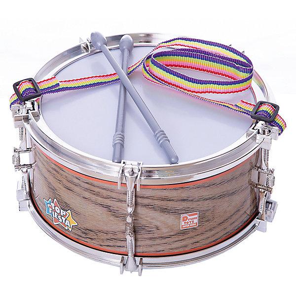 Тилибом Игрушечный барабан Тилибом 2 палочки, 21 см тилибом тилибом автодром овал с перекр 160см бат в пульте