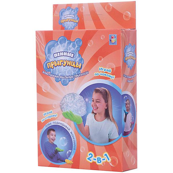 1Toy Мыльные пузыри 2 в 1 1toy Пенные Прыгунцы