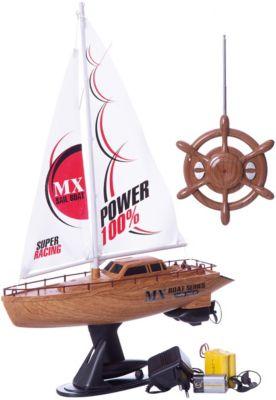 Радиоуправляемая парусная лодка 1toy, 39 см, артикул:8422689 - Радиоуправляемые игрушки