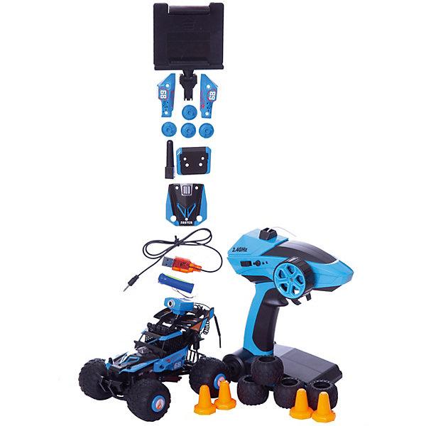 Купить Радиоуправляемая машинка 1toy Hot Wheels Багги, синяя 1:28, Китай, синий, Унисекс