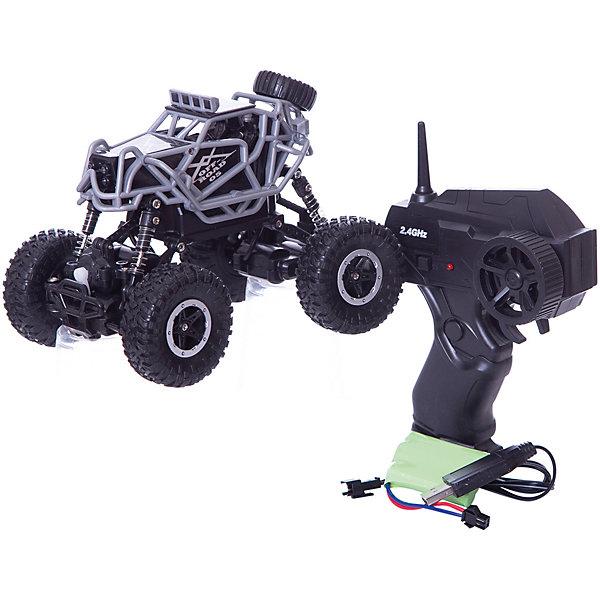 1Toy Радиоуправляемая машинка  Драйв Раллийная машина бигвил, серо-чёрная
