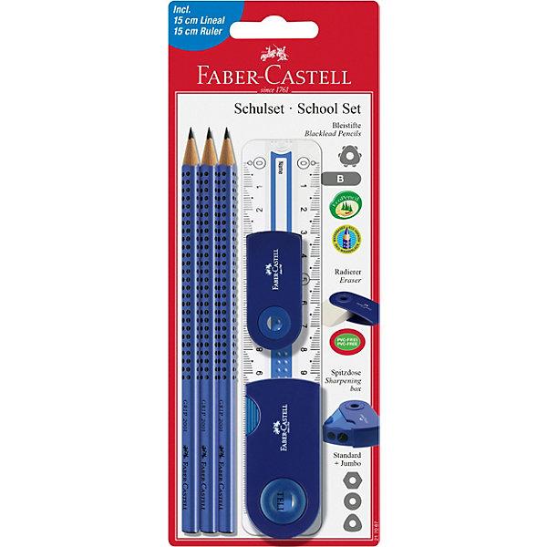 Faber-Castell Специальный набор с карандашами «Grip 2001»,