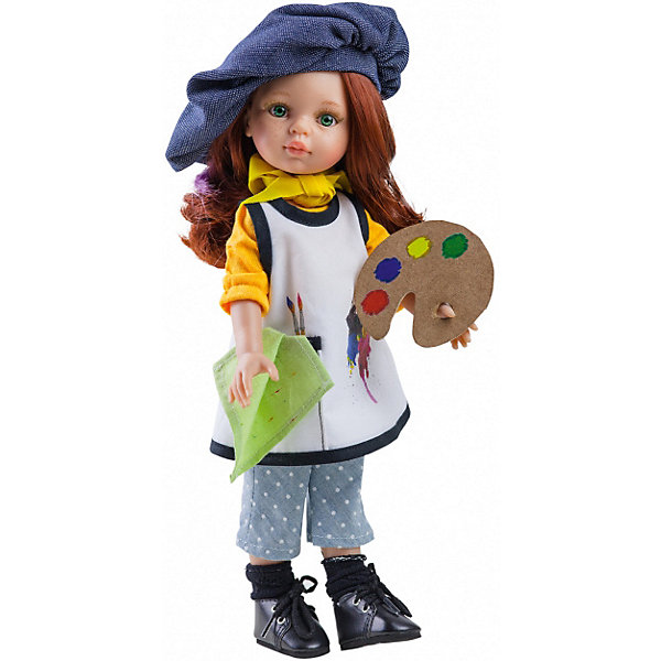 Paola Reina Кукла Paola Reina Кристи художница, 32 см