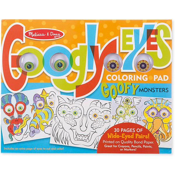 Купить Раскраска Melissa & Doug Забавные монстры , США, разноцветный, Унисекс