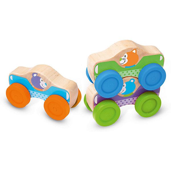 Машинки Melissa &amp; Doug Первые навыкиМашинки<br>Характеристики товара:<br><br>• возраст: от 1 года;<br>• материал: дерево, пластик;<br>• размер упаковки: 19х6х13 см;<br>• вес упаковки: 270 гр.;<br>• страна бренда: США.<br><br>Теперь у вашего малыша в коллекции игрушек появятся 3 новые красочные машинки, которые свободно ездят по полу благодаря вращающимся колесикам на корпусе. Но главный сюрприз ребенка ждет при размещении игрушек друг на друге, ведь они образуют забавную пирамидку.<br><br>Машинки Melissa &amp; Doug Первые навыки можно купить в нашем интернет-магазине.<br>Ширина мм: 191; Глубина мм: 57; Высота мм: 133; Вес г: 272; Цвет: разноцветный; Возраст от месяцев: 12; Возраст до месяцев: 2147483647; Пол: Мужской; Возраст: Детский; SKU: 8427149;