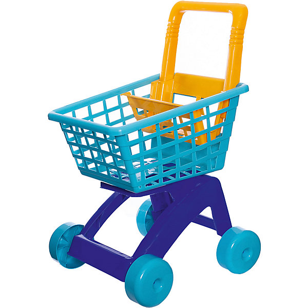 Тележка для супермаркета Dohany, синяяДетский супермаркет<br>Характеристики:<br><br>• возраст: от 3 лет;<br>• цвет: синий;<br>• материал: пластик;<br>• вес: 600 гр;<br>• размер: 42x36х59 см;<br>• страна бренда: Венгрия;<br>• бренд:  DOHANY.<br><br>Тележка для супермаркета DOHANY поможет ребенку почувствовать себя по-настоящему взрослым. Ведь теперь малыш сможет, как и его мама или папа, взять пластиковую тележку в магазине и пойти за покупками. Тележка оснащена пластиковыми колесами и удобной корзиной. Игрушка изготовлена из качественного и прочного пластика.<br><br>Тележка для супермаркета DOHANY можно купить в нашем интернет-магазине.