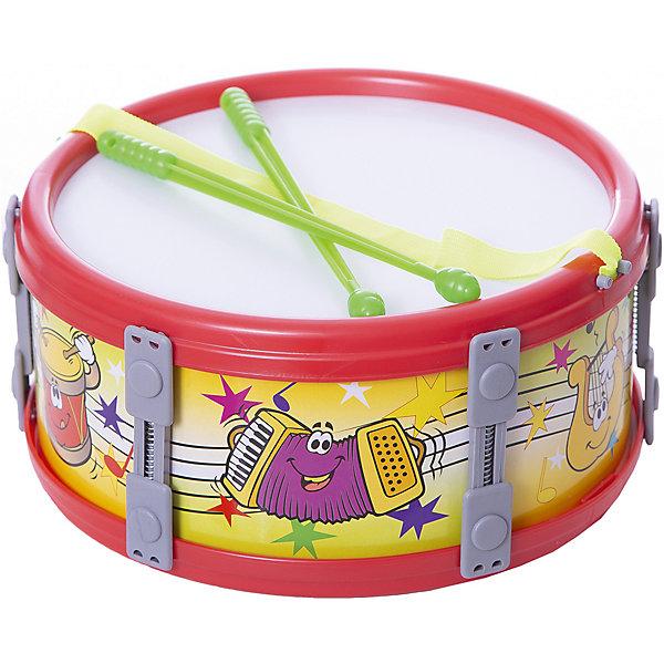 Marek Барабан большой Marek 23 см, музыкальные игрушки marek барабан большой 23 см