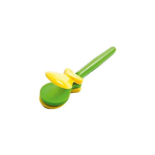 Кастаньеты Marek, жёлто-зелёныеДругие музыкальные инструменты<br>Характеристики:<br><br>• возраст: от 3 лет;<br>• цвет: желтый, зеленый;<br>• материал: пластик;<br>• комплектация: кастаньеты;<br>• вес: 50 гр;<br>• размер: 17x5х2 см;<br>• страна бренда: Польша;<br>• бренд:  Marek.<br><br>Кастаньеты  Marek - это оригинальный музыкальный инструмент, который состоит из двух половинок. Издает щелкающий звук при соединении этих половинок между собой. Кастаньеты могут служить для отбивания ритма. С детскими игрушечными кастаньетами ребенок с огромным удовольствием будет подыгрывать любимым песням и мелодиям. Игрушка создана из прочного и качественного пластика. Она отлично развивает чувство ритма, стимулирует развитие музыкального слуха.<br><br>Кастаньеты Marek можно купить в нашем интернет-магазине.