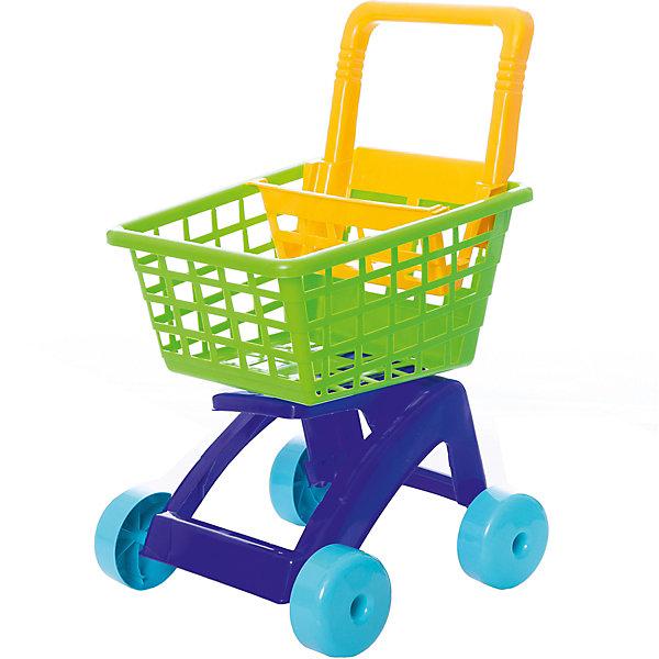 Dohany Тележка для супермаркета Dohany, зелёная стол тележка с корзиной и столешницей 81х114х54 см 370 primo