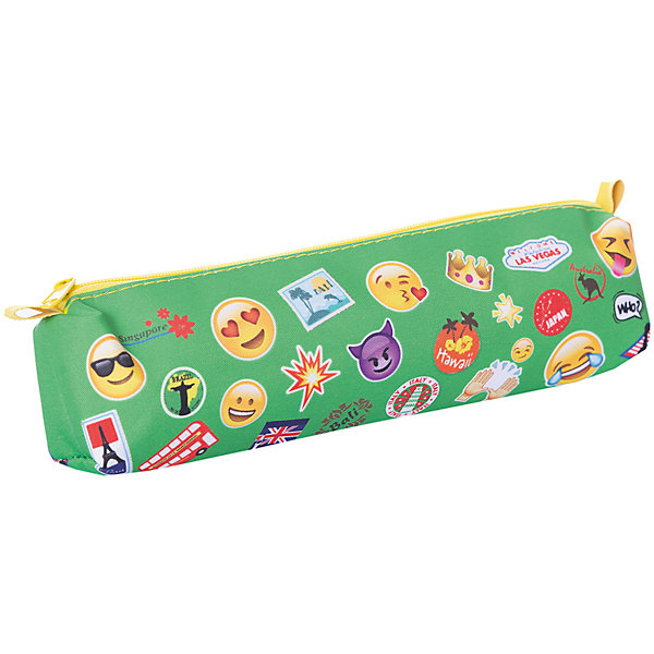 Пенал-тубус Centrum «Смайлы»Пеналы без наполнения<br>Характеристики: <br><br>• возраст: от 5 лет;<br>• отделение: 1;<br>• тип застежки: молния;<br>• размеры: 21х9х4 см;<br>• цвет: зеленый;<br>• материал: полиэстер, 210 ден;<br>• принт: смайлы;<br>• упаковка: пакет;<br>• размеры упаковки: 21х4,5х4,5 см;<br>• вес в упаковке: 60 гр;<br>• страна бренда: Германия.<br><br>Пенал объемный Centrum (Центрум) «Смайлы» предназначен для хранения и переноски канцелярских принадлежностей. Пенал имеет одно отделение на молнии. Изготовлен из износостойкого полиэстера, надежно защищающего содержимое пенала.<br><br>Пенал объемный Centrum (Центрум) «Смайлы» можно купить в нашем интернет- магазине.<br>Ширина мм: 210; Глубина мм: 45; Высота мм: 45; Вес г: 60; Цвет: зеленый; Возраст от месяцев: 60; Возраст до месяцев: 144; Пол: Унисекс; Возраст: Детский; SKU: 8430986;