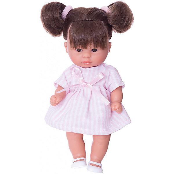Asi Кукла Asi Пупсик в платье в полоску, 20 см куклы и одежда для кукол asi пупсик 20 см 112310