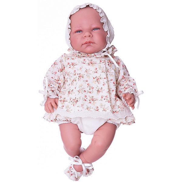 Asi Кукла-реборн Asi Триана в бежевом костюмчике, 46 см