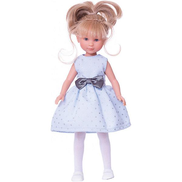 Классическая кукла Asi Селия в голубом платье, 30 смКуклы<br>Характеристики:<br><br>• возраст: от 3 лет;<br>• материал: 100% винил, текстиль;<br>• комплектация: кукла, одежда;<br>• высота куклы: 30 см;<br>• вес: 500 гр;<br>• размер: 38x24х13 см;<br>• страна бренда: Испания;<br>• бренд:  ASI.<br><br>Кукла ASI «Селия», 30 см делана качественно, в использовании долговечна. Густые волосы куклы, качественно прошиты и собраны в прическу. С куклой можно играть в парикмахерскую, а вечером брать с собой в ванную.<br><br>Одежда куклы сшита аккуратно, украшена бантом, края оверложены. Куклу можно одевать и раздевать. На одежде липучки-застёжки, это удобно и безопасно. Каждая деталь в образе проработана в мелких подробностях, расписана вручную. Куклы имеют уникальную авторскую подпись на теле.<br><br>Куклу ASI «Селия», 30 см можно купить в нашем интернет-магазине.<br>Ширина мм: 380; Глубина мм: 240; Высота мм: 130; Вес г: 50; Цвет: разноцветный; Возраст от месяцев: 36; Возраст до месяцев: 2147483647; Пол: Женский; Возраст: Детский; SKU: 8433052;