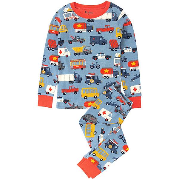 Пижама Hatley для мальчикаПижамы и сорочки<br>Пижама Hatley для мальчика<br>Пижамы Hatley  сделаны из качественного материала (100% хлопок), который не вызывает аллергию. Манжеты внизу на штанишках и на рукавах делают пижаму еще теплее, ведь они не позволяют пижамке «задраться» во время сна. Яркие принты не оставят равнодушным вашего ребенка.<br>Состав:<br>100% хлопок<br>Ширина мм: 281; Глубина мм: 70; Высота мм: 188; Вес г: 295; Цвет: голубой; Возраст от месяцев: 48; Возраст до месяцев: 60; Пол: Мужской; Возраст: Детский; Размер: 110,104,98,92,128,122,116; SKU: 8435480;