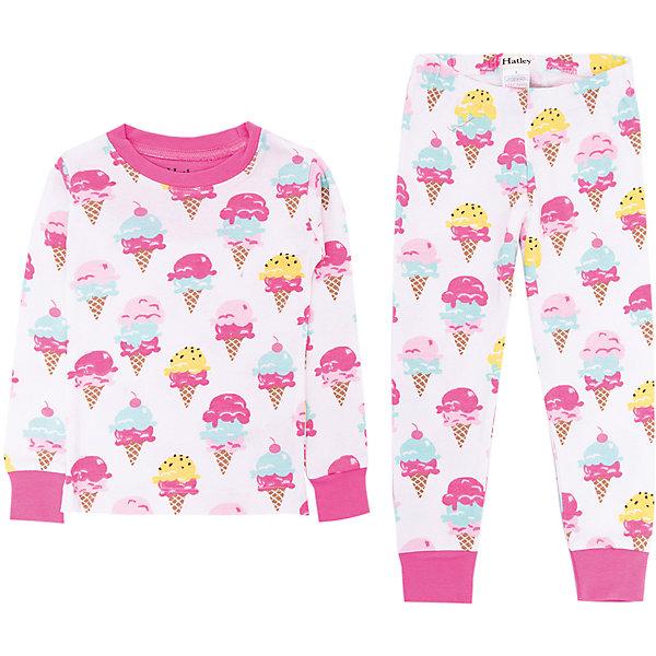 Пижама Hatley для девочкиПижамы и сорочки<br>Пижама Hatley для девочки<br>Пижамы Hatley  сделаны из качественного материала (100% хлопок), который не вызывает аллергию. Манжеты внизу на штанишках и на рукавах делают пижаму еще теплее, ведь они не позволяют пижамке «задраться» во время сна. Яркие принты не оставят равнодушным вашего ребенка.<br>Состав:<br>100% хлопок<br>Ширина мм: 281; Глубина мм: 70; Высота мм: 188; Вес г: 295; Цвет: белый; Возраст от месяцев: 18; Возраст до месяцев: 24; Пол: Женский; Возраст: Детский; Размер: 92,128,122,116,110,104; SKU: 8435488;