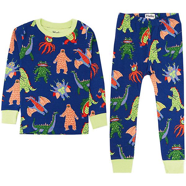 Пижама Hatley для мальчикаПижамы и сорочки<br>Пижама Hatley для мальчика<br>Пижамы Hatley  сделаны из качественного материала (100% хлопок), который не вызывает аллергию. Манжеты внизу на штанишках и на рукавах делают пижаму еще теплее, ведь они не позволяют пижамке «задраться» во время сна. Яркие принты не оставят равнодушным вашего ребенка.<br>Состав:<br>100% хлопок<br>Ширина мм: 281; Глубина мм: 70; Высота мм: 188; Вес г: 295; Цвет: темно-синий; Возраст от месяцев: 18; Возраст до месяцев: 24; Пол: Мужской; Возраст: Детский; Размер: 92,98,104,110,128; SKU: 8435495;