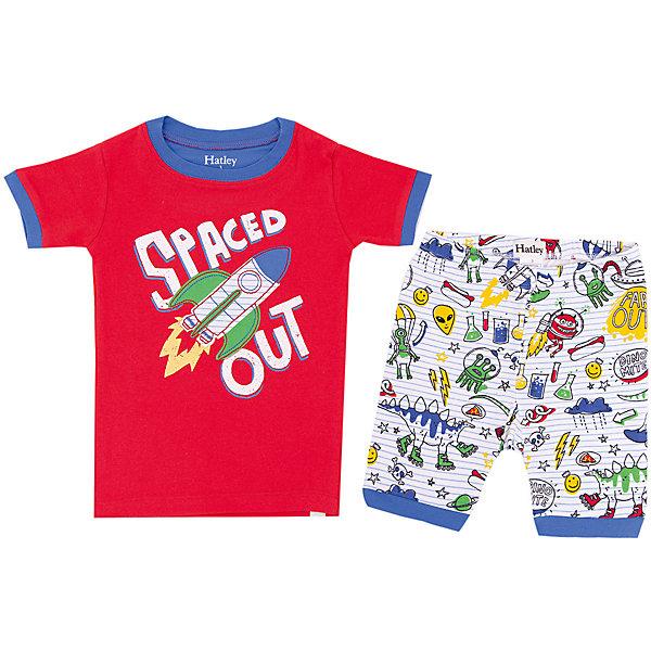 Пижама Hatley для мальчикаПижамы и сорочки<br>Пижама Hatley для мальчика<br>Пижамы Hatley  сделаны из качественного материала (100% хлопок), который не вызывает аллергию. Манжеты внизу на штанишках и на рукавах делают пижаму еще теплее, ведь они не позволяют пижамке «задраться» во время сна. Яркие принты не оставят равнодушным вашего ребенка.<br>Состав:<br>100% хлопок<br>Ширина мм: 281; Глубина мм: 70; Высота мм: 188; Вес г: 295; Цвет: красный; Возраст от месяцев: 24; Возраст до месяцев: 36; Пол: Мужской; Возраст: Детский; Размер: 98,116,110,104; SKU: 8435527;