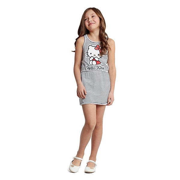 Платье PlayToday для девочкиПлатья и сарафаны<br>Характеристики товара:<br><br>• цвет: серый;<br>• состав ткани: 95% хлопок, 5% эластан;<br>• сезон: лето;<br>• без рукавов; <br>• страна бренда: Германия.<br><br>Платье для ребенка отличается мягкой дышащей приятной на ощупь тканью, которая способна долго сохранять форму и цвет. Модное платье для детей отличается приталенным силуэтом. Принтованное детское платье, выполненное в универсальном приятном цвете, может стать отличным вариантом удобной одежды для теплой погоды. Детские товары от известного бренда PlayToday пользуются популярностью у родителей благодаря высокому качеству и удобству. <br><br>Платье PlayToday (ПлэйТудэй) для девочки можно купить в нашем интернет-магазине.<br>Ширина мм: 236; Глубина мм: 16; Высота мм: 184; Вес г: 177; Цвет: синий; Возраст от месяцев: 36; Возраст до месяцев: 48; Пол: Женский; Возраст: Детский; Размер: 104,146/152,134/140,122,116,110,128; SKU: 8435824;