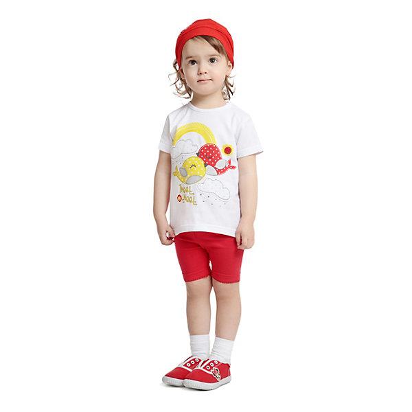 Купить Комплект PlayToday для девочки, красный, 74, 98, 92, 86, 80, Женский