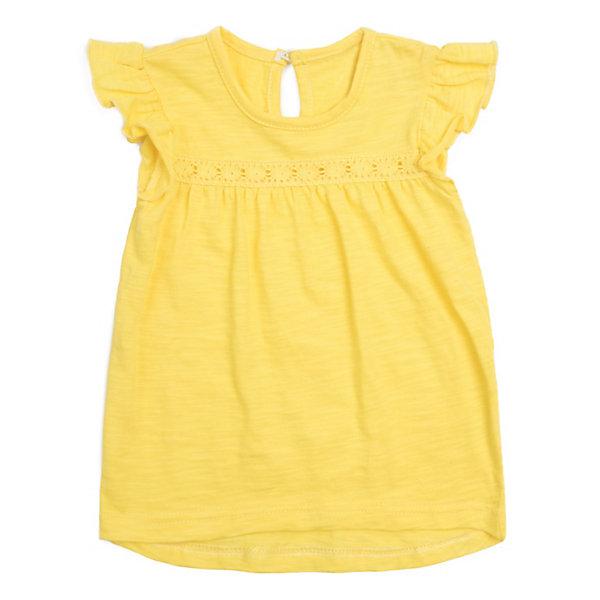Купить Майка PlayToday для девочки, желтый, 74, 80, 98, 92, 86, Женский