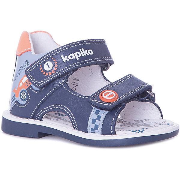 Kapika Сандалии Kapika для мальчика сандалии betsy сандалии