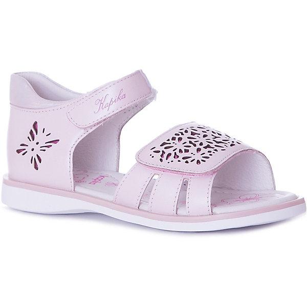 Kapika Сандалии Kapika для девочки сандалии basconi сандалии