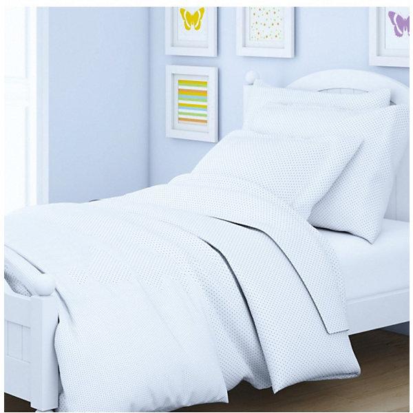 Letto Детское постельное белье 3 предмета Letto, простыня на резинке, BGR-78 letto постельное белье индиго 50х70 letto