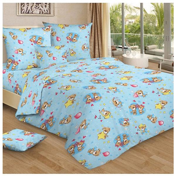 Letto Детское постельное белье 3 предмета Letto, простыня на резинке, BGR-73 letto детское постельное белье 1 5 сп letto каляка