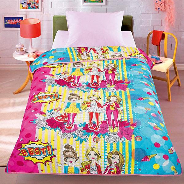 Letto Покрывало-одеяло Letto Подружки, 140х200 см