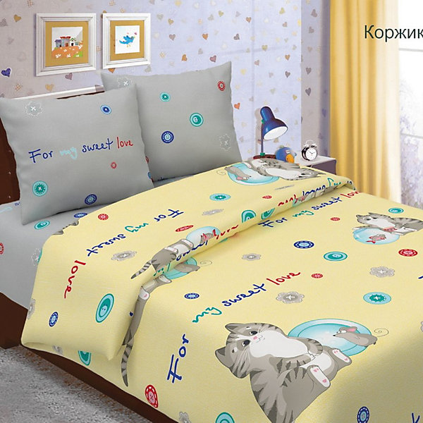 Letto Детское постельное белье 1,5 сп Letto, Коржик, letto детское постельное белье 1 5 сп letto джунгли